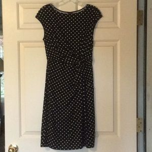 Merona Size S/P Black & White Dress